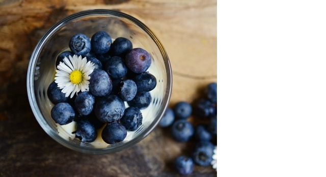 This example creates a partial copy of a JPG photo of blueberries. It sets copies to a fraction 0.6666, which is two-thirds of the image. Instead of making multiple copies, it basically crops the image.