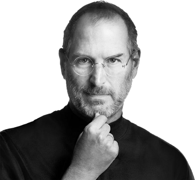 In this example we convert a PNG image of Steve Jobs with transparent regions to a JPG image, and we fill transparent regions with blue color.